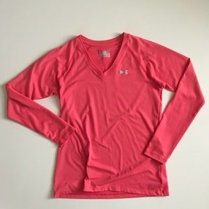 Unders Armour Coral Long Sleeves Shirt ✅Offers